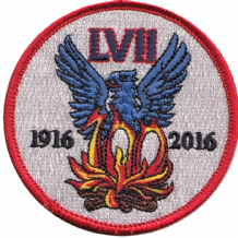 No. LVII (57) Squadron Royal Air Force RAF Centenary 2016 Embroidered Patch